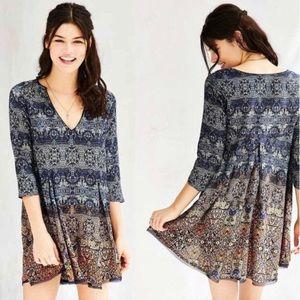 Urban Outfitters x Ecoté Boho Flowy Day Dress